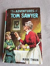 Vintage Book The Adventures Of Tom Sawyer By Mark Twain 1976