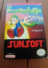 Rare 1992 Nintendo Nes Lemmings video game CIB