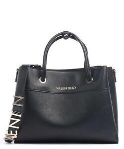VALENTINO BAGS ALEXIA SYNTHETIC HANDBAG -  VBS5A802 - BLACK