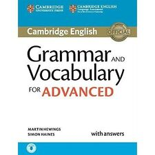 Grammar and Vocabulary Advanced Book and Audio (2015) by Martin Hewings, Simon Haines (Mixed media product, 2015)