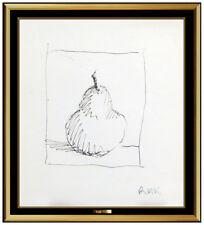 Robert Kulicke Original Ink Drawing Signed Modern Still Life Authentic Artwork