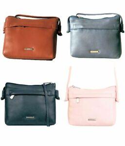 Nova Leather - Small Cross Body Bag - Various Colours RRP £32.99