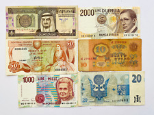 World Mix Currency Lots of 6 Collections Banknotes Auction Start From 1$