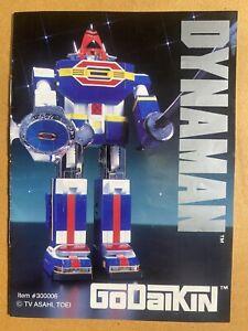 Sentai power rangers Dynaman Dx godaikin dyna robot popy Chogokin bandai 1984