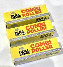 3 Bull Brand Combi Roller Adjustable Ultra Slim Smoking Rolling Machines