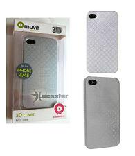 Funda MUVIT efecto 3D para iPhone 4/4s