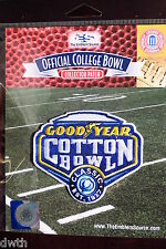 NCAA College Football Cotton Bowl 2016/17 Patch Western Michigan Wisconsin