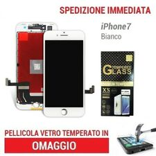TOUCH SCREEN LCD DISPLAY RETINA SCHERMO  FRAME PER APPLE IPHONE 7 7G BIANCO