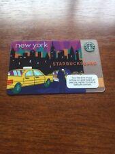 NEW Rare MINT Starbucks Card 2010  NYC New York City Taxi - old logo