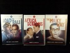 Lot of 3 Collector's Edition DVDs: Africa Screams - The Milky Way - Road to Bali