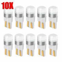 10x T10 White Canbus LED Bulb W5W 3030 SMD Car Width Light Interior Reading Lamp