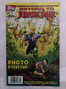 Topps Collectible Comic Book JURASSIC PARK No 8 January 1996 Vol 1