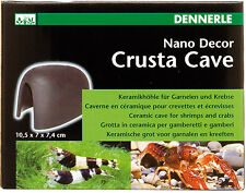 Dennerle Crusta Cave M - Shrimp, Crayfish & Fish Hide - Ceramic Ornament