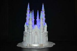 Lighted Cinderella Castle Cake Topper