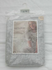 LADIES MARKS AND SPENCER GREY THERMAL SHORT SLEEVE VESTS PACK OF 2 SIZE 20