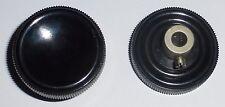 Bouton 36 mm axe 6 mm bakélite acier cadmié haute qualité militaire FR