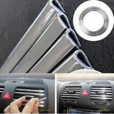 1 M Decoration Strip Car Air Conditioning Tuyeres Chrome Stickers Car-Styling