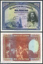 SPAIN 1000 Pesetas 1928  San Fernando Pick 78 EBC+ /   XF
