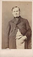 Photo cdv : Bayard ; François-Joseph Régnier , comédien et  dramaturge Français