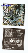 NEW PIG DESTROYER Phantom Limb Amp Case Guitr Sticker
