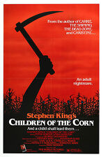 Children of the Corn - Stephen King - Linda Hamilton - A4 Laminated Mini Poster