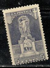 #628 1926 5-cent Ericsson Memorial Mlh