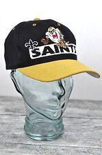 New Orleans Saints Vtg Hat Drew Pearson Snapback Cap Taz Tazmanian Devil 90s