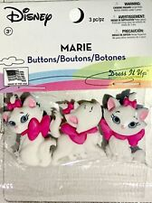 DRESS IT UP BUTTON EMBELLISHMENTS ~MARIE (SHANKS ON THE BACK)