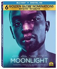 MOONLIGHT (2016 Naomie Harris)  - BLURAY - Region A - Sealed