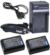 New NP-FW50 Battery + Charger for Sony Alpha NEX-5 NEX-5N NEX-5R NEX-6 NEX-7