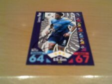 signed swansea city away kit match attax card of leroy fer