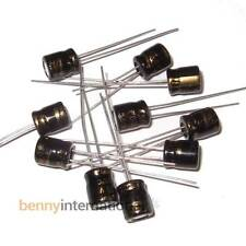 10x 100uF 16V 105°C CAPACITORS Sub Miniature Small Supertech - AUS STOCK