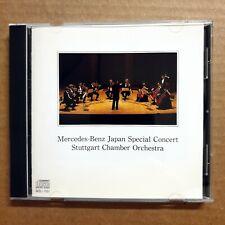 Mercedes Benz Japan Special Concert Stuttgart Chamber Orchestra CD BACH RARE ED1