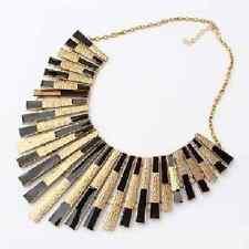 Halskette Collier große massive Kette Mittelalter Gothic Kragen schwarz NEU
