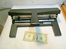 ACCO Mutual 450 Adjustable Heavy Duty 3 Hole Paper Punch - in good used shape