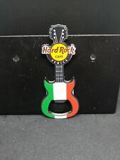 Hard Rock Cafe Venice Flag Guitar Bottle Opener Magnet
