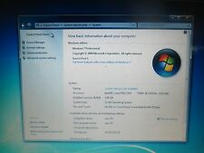 Dell Latitude D620 laptop 80GB  Hard Drive with Windows 7 Pro ready to install!