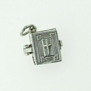 Vintage Sterling Silver NUVO BIBLE CHARM