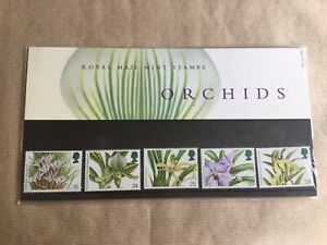 Royal Mail Mint Stamps Presentation Pack Orchids 236 1993 In Sleeve 1993 MNH