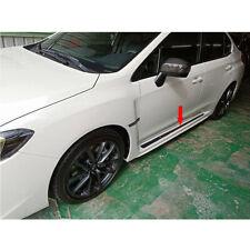 Carbon Fiber For Subaru WRX STI 4th 4DR Sedan Side Skirts Trim S207 S208