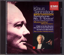 Klaus TENNSTEDT: BEETHOVEN Symphony No.3 MUSSORGSKY A Night at Bare the Mountain