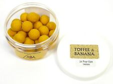 25 RBA Toffee Banana 14mm Pop-Ups Floaters Fishing Bait Boilies Hookers 2506175