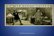 Dr. Jekyll and Mr. Hyde  ... 52  (OTR) Old Time Radio Shows MP3 on a CD