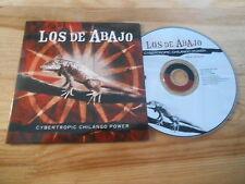 CD Ethno Los De Abajo - Cybertropic Chilango Power (16 Song) Promo LUAKA BOP cb