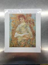 """Edna Hibel """"David The Shepard"""" 8x10  The Laurels Collection"""
