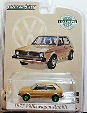Green Machine 30099 1977 Volkswagen Rabbit Champagne Edtn 1:64 Greenlight Chase