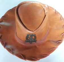 AUTHENTIC TOY STORY SHERIFF WOODY COWBOY HAT DISNEY PARKS EXCLUSIVE FAUX LEATHER