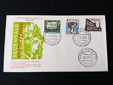 REPUBBLICA  BUSTA FDC  1958 DECENNALE COSTITUZIONE