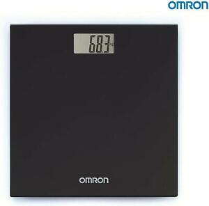 Omron HN 289 (Black) Automatic Personal Digital Weight Machine With Large LCD
