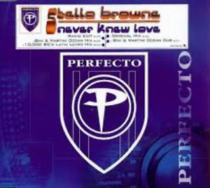 STELLA BROWNE: NEVER KNEW LOVE – 5 TRACK CD SINGLE, YOUSEF, PAUL WOOLFORD